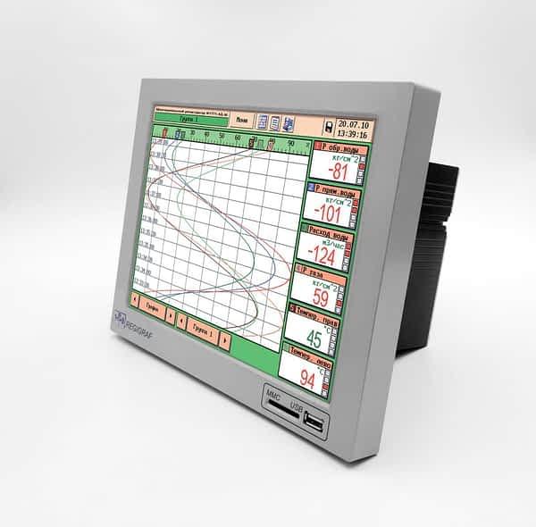 Многоканальный электронный регистратор REGIGRAF (Ф1771-АД-М)