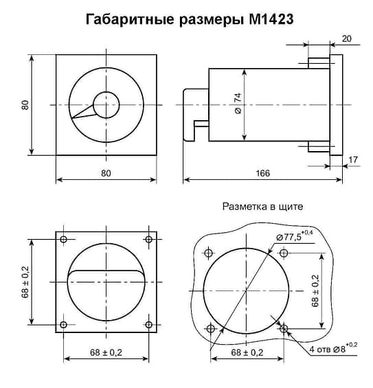 Мегомметры М1423.1 (М1423) И М1623.1 (М1623)