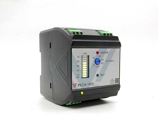 Реле контроля сопротивления изоляции переменного тока РКСИ-1002